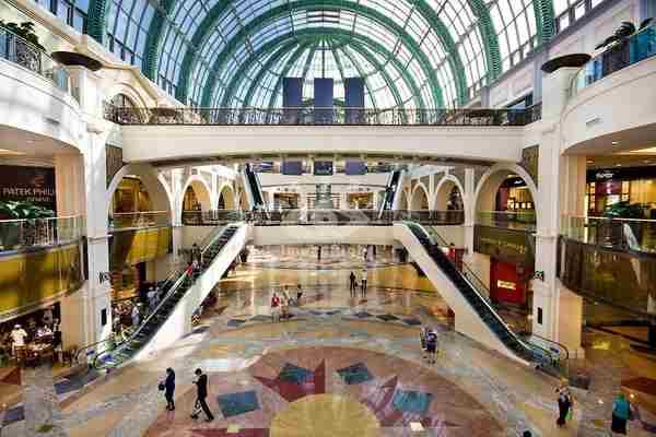 مرکز خرید امارات مال دبی - Mall of the Emirates