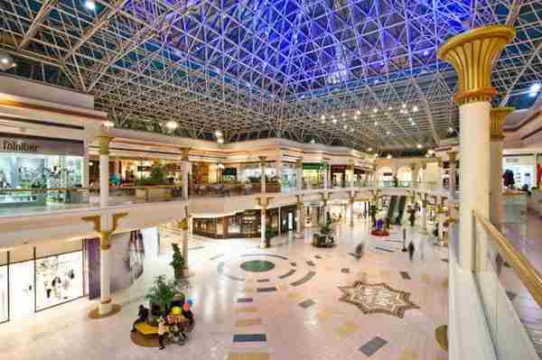 مرکز خرید وافی دبی - Wafi Shopping Mall