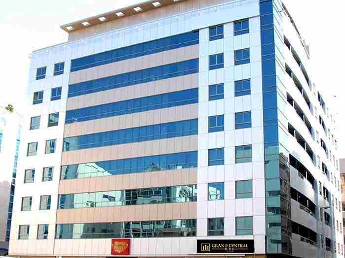 هتل گرند سنترال دبی - grand central hotel