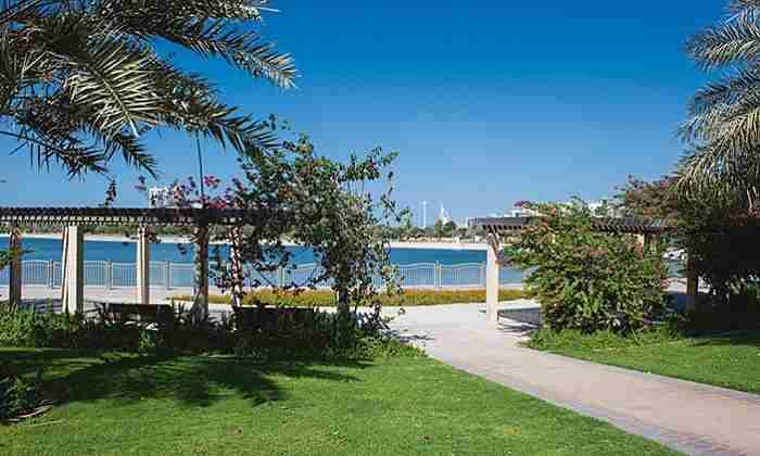 پارک البرشا دبی - Al Barsha Pond Park