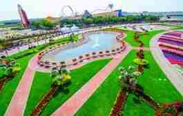 پارک باغ معجزه دبی - Miracle Garden