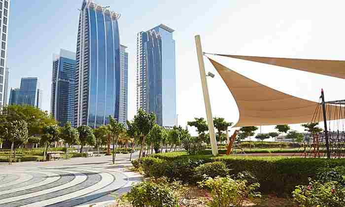 پارک برکه ای برج های جمیرا دبی - JLT Park