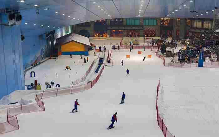 اسکی دبی در امارات مال