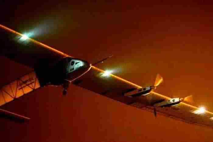 پرواز هواپیمایی خورشیدی از قاهره به دبی