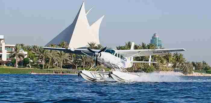 سی وینگز دبی - هواپیمای آب نشین تفریحی