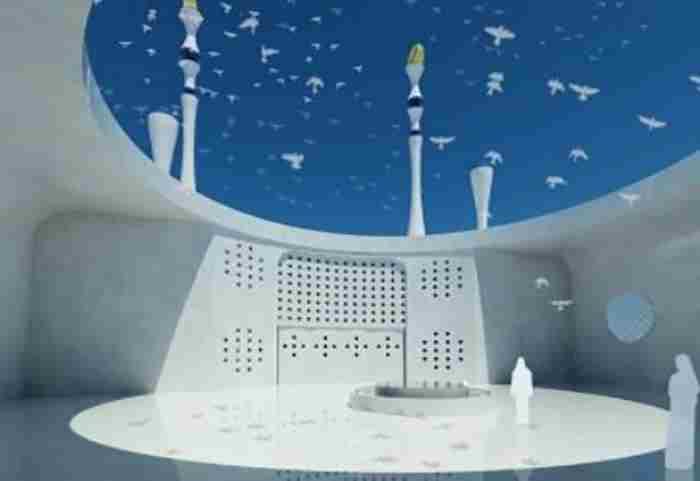 مسجد شناور ویژه صیادان در دبی