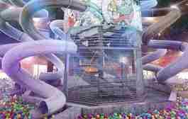 افتتاح استخر توپ كودكان در دبی مال