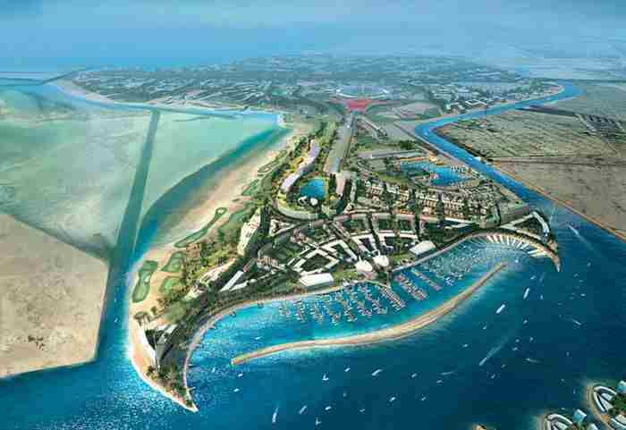 جزیره یاس ابوظبی
