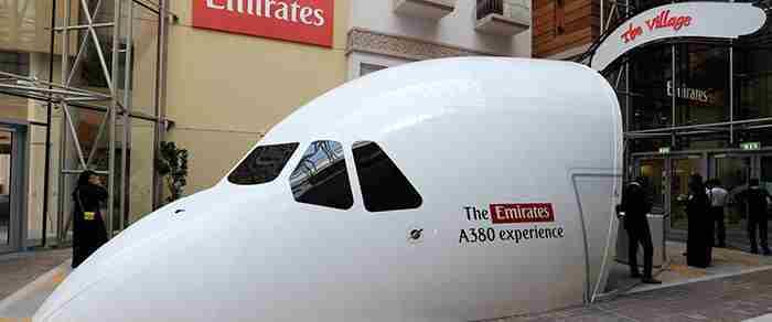 تجربه ی خلبانی با ایرباس 380 امارات