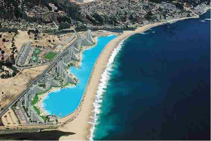 بزرگترین استخر جهان در دبی احداث می شود