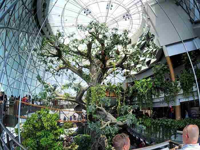 بزرگترین درخت مصنوعی جهان در دبی