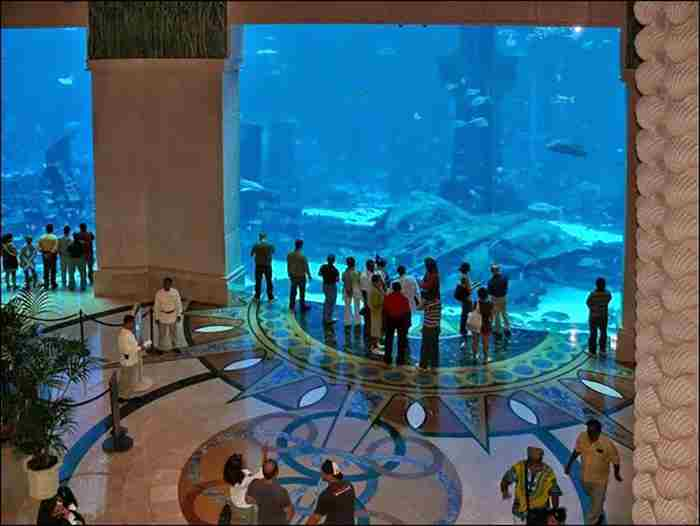 آکواریوم هتل آتلانتیس دبی