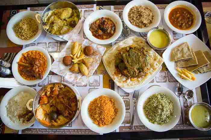 بهترین خوردنی ها در دبی