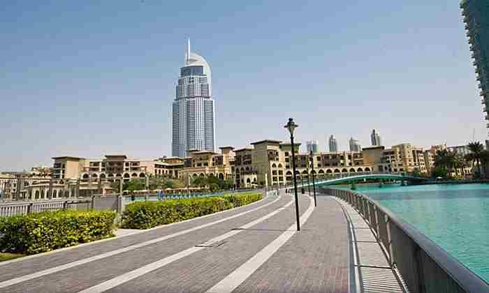 برج پارک دبی - Burj Park