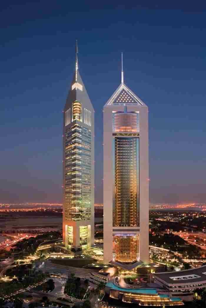 هتل برج های امارات جمیرا دبی - Jumeirah Emirates Towers