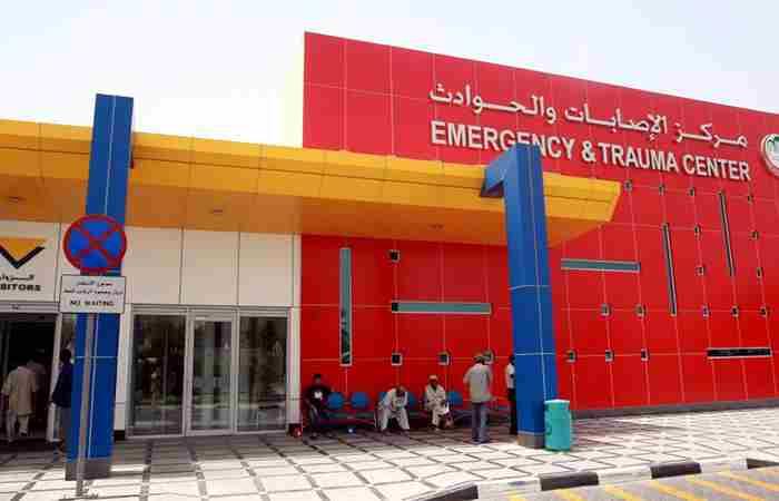 اورژانس دبی - بیمارستان راشد
