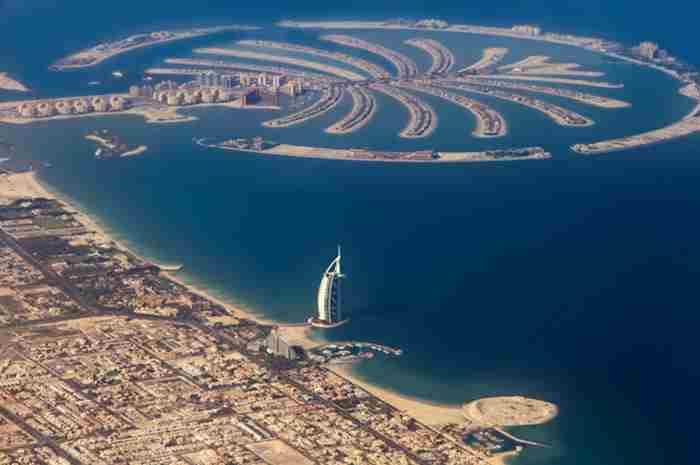 احداث جزیره مصنوعی جدید در دبی