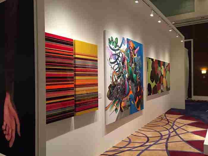 درخشش هنر ایرانی در دبی