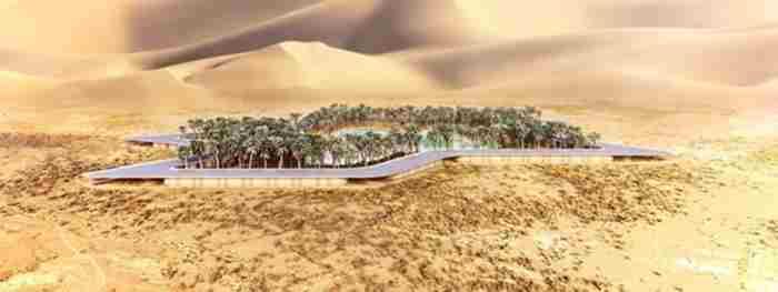 طراحی پایدارترین اقامتگاه جهان در امارات