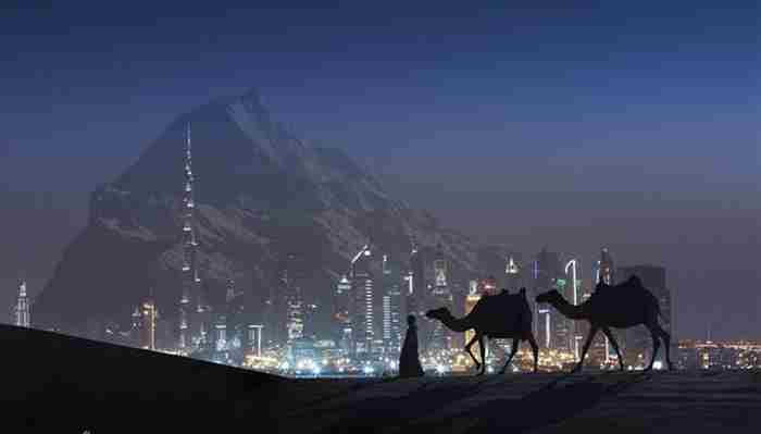 کوه مصنوعی در دبی