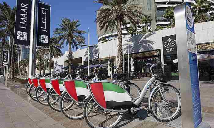 دبی در حال توسعه یک پیست دوچرخه سواری 500 کیلومتری است