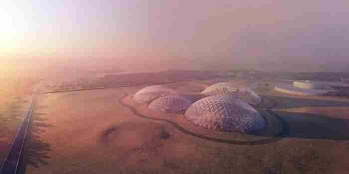 اماراتی ها مریخ را به دبی می آورند