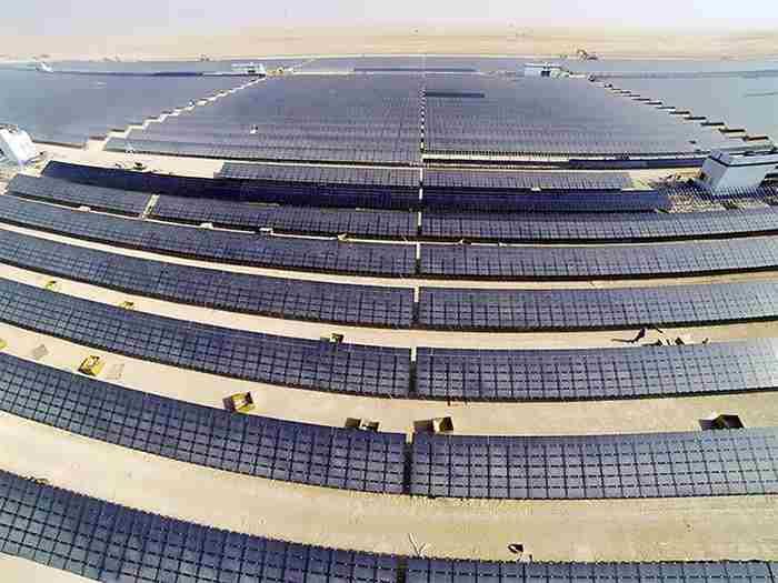ساخت بلندترین برج خورشیدی جهان در دبی