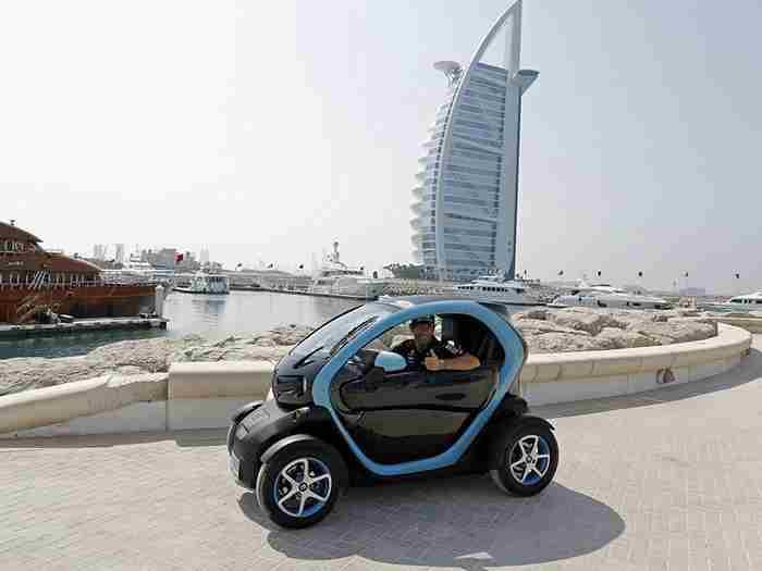 دبی، بهشت خودروهای برقی