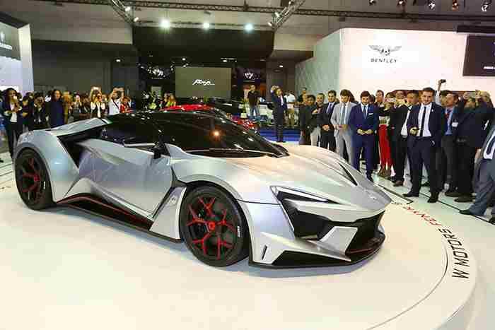 بزرگترین نمایشگاه خودرو خاورمیانه در دبی برگزار می شود