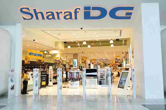 شرف دی جی - یکی از بزرگترین فروشگاه های الکترونیک دبی