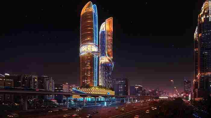 اولین هتل مجهز به جنگل گرمسیری در دبی - هتل رزمونت