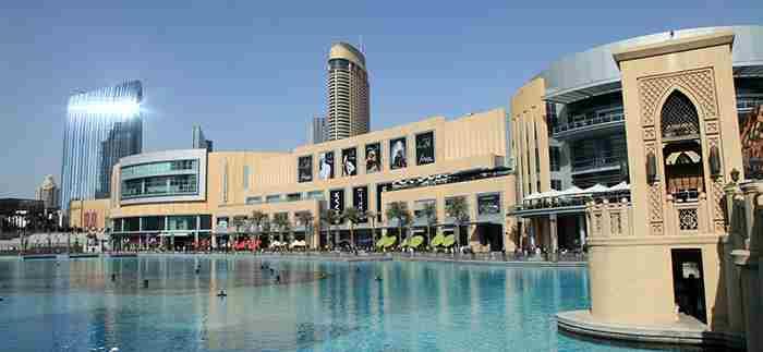 مرکز خرید دبی مال - The Dubai Mall