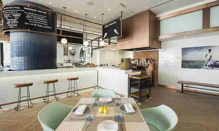 رستوران خانه ماهی در منطقه فستیوال سیتی دبی - Fish House Restaurant