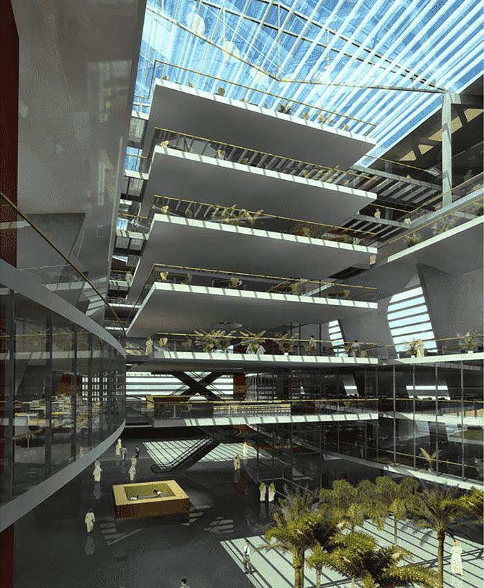 بزرگترین کتابخانه دبی