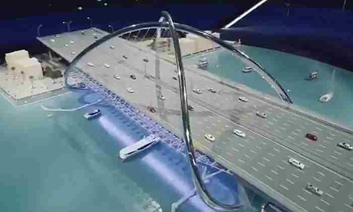 یک پل جدید و زیبا روی خور دبی- پل اینفینیتی دبی