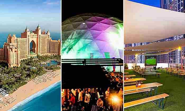 بهترین مکان ها برای تماشای بازی های جام جهانی 2018 در دبی
