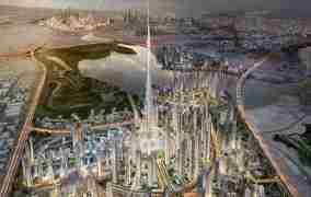 بلندترین برج دبی رکورد های جدیدی میزند