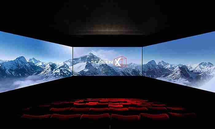 تجربه تماشای سینمای ۲۷۰ درجه در دبی