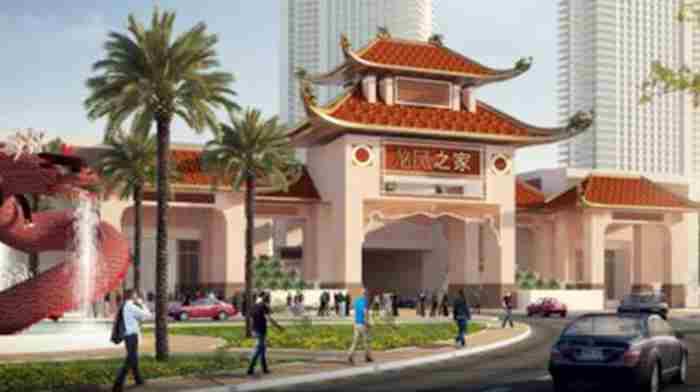 بزرگترین محله چینی های خاورمیانه در دبی