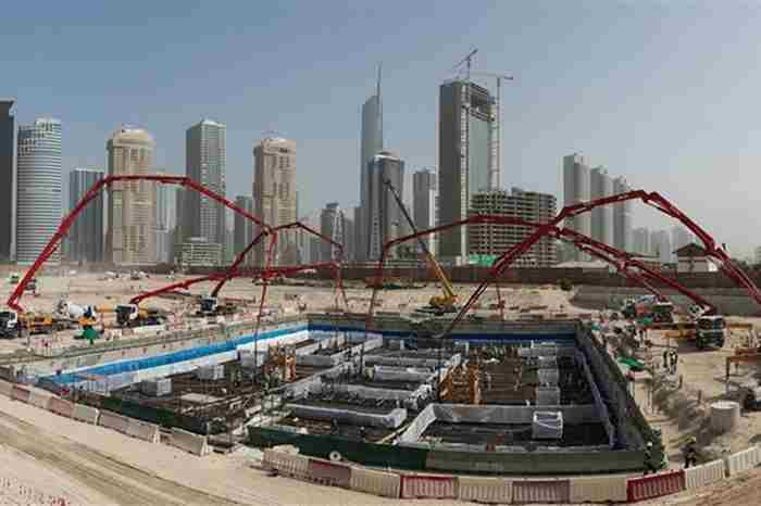 ساخت یکی از بلندترین برج های دنیا در دبی شروع میشود
