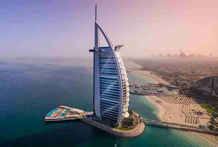 بازسازی برج العرب