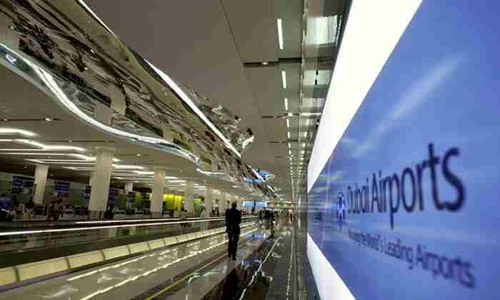 سالن اسپا و ماساژ در ترمینال ۳ فرودگاه دبی
