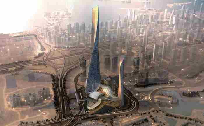 بلندترین برج دبی