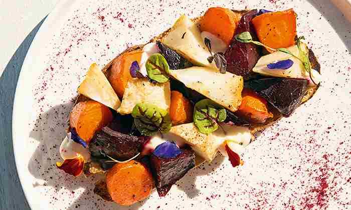 تارتینه سبزیجات