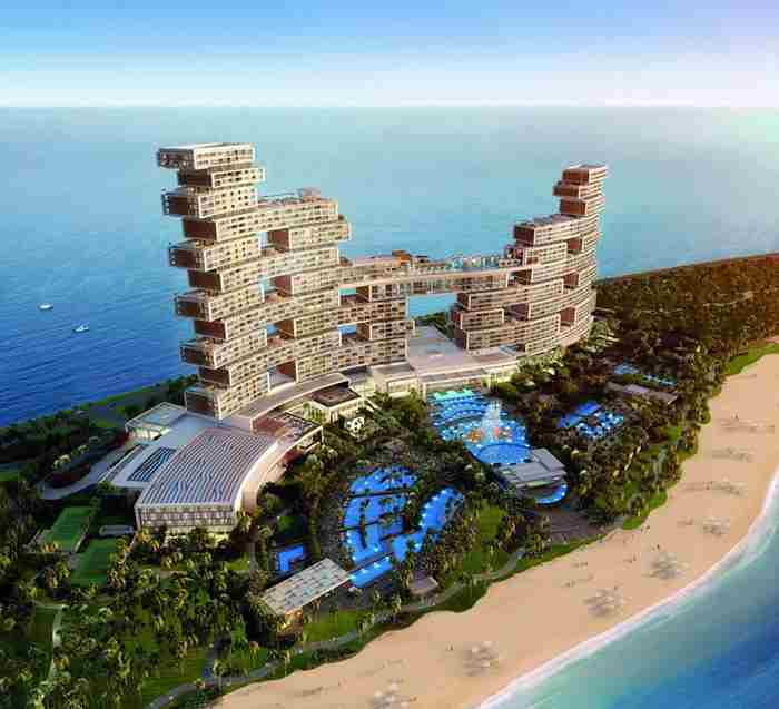 منطقه سوپر لاکچری جدید دبی