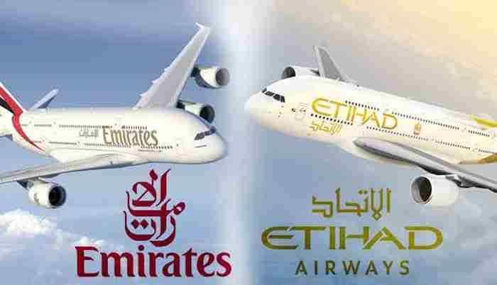 هواپیمایی امارات در فکر تصاحب هواپیمایی اتحاد