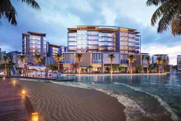 اسکله جدید دبی با معماری مدرن