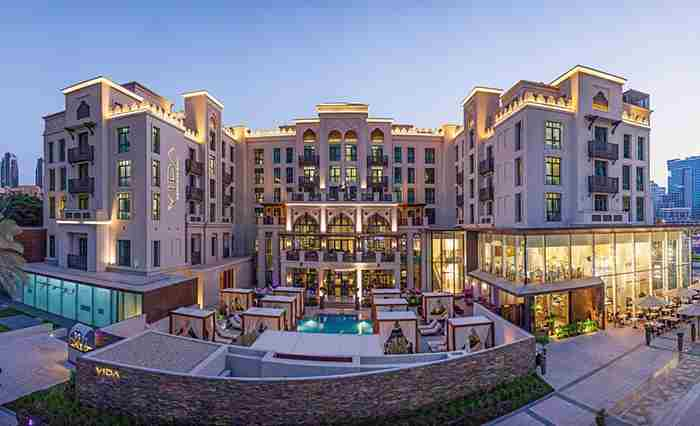 هتل ویدا داون تاون دبی - Vida Downtown