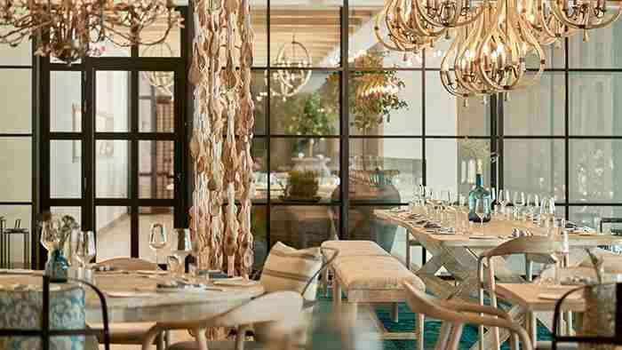 رستوران فرانسوی بلو بلانک دبی - Bleu Blanc
