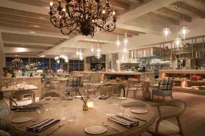 رستوران فرانسوی بلو بلانک